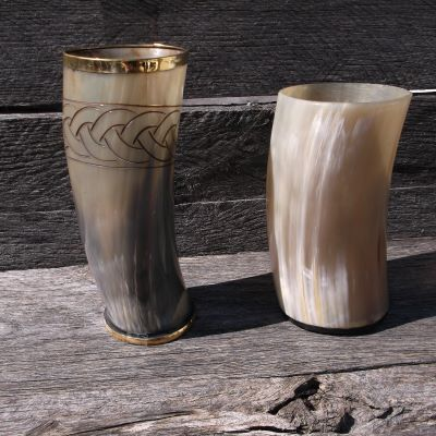 Horn Cups and Tankards