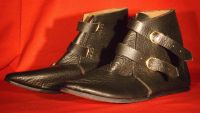 14th Century Womens Two Buckle Ankle Boot