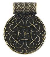 Birka Amulet Antique Brass
