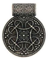 Birka Amulet Antique Silver