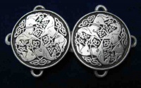 Celtic Horse Cloak Clasp Small Version