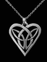 Celtic Knot Necklace Long