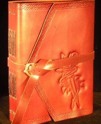 Dagger and Rose Embossed Journal