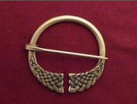 Large Knotwork Penannular Brooch