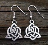 Celtic Sister Knot Earrings