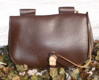 Viking Style Pouch Brown