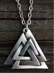 Valknut Necklace Closed Version